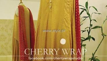 Cherry Wrap Eid ul Azha Dresses 2013 for Women