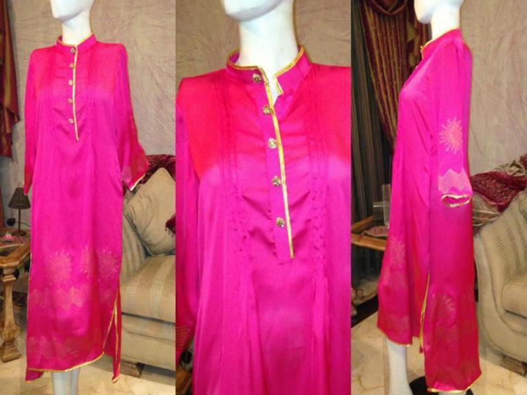 Heena Ayub Winter Kurta Collection 2013 For Women  006