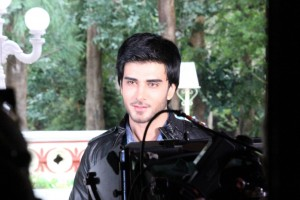 Imran Abbas On the Set Of Creature 12