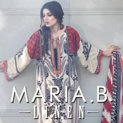 Maria B Linen Dresses 2013 for Women 002