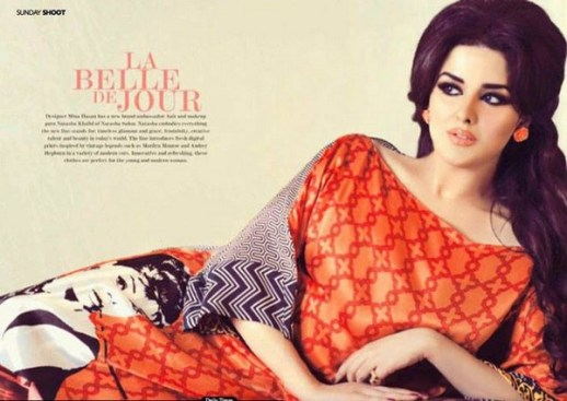 Mina Hasan Digital Prints 2013 for Women 005