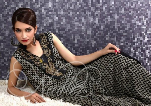 Needlez By Shalimar Formal Dresses 2013 For Women 007