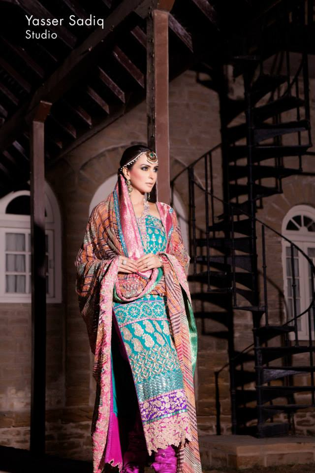 Umar Sayeed Bridal Wear Collection 2013 For Women