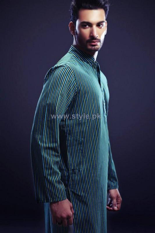 Yellow Menswear Collection 2013 For Eid-Ul-Azha3