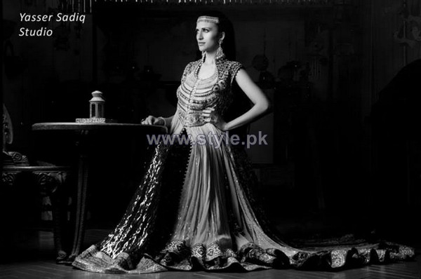 Zeeshan Bariwala Formal Dresses 2013 For Women4