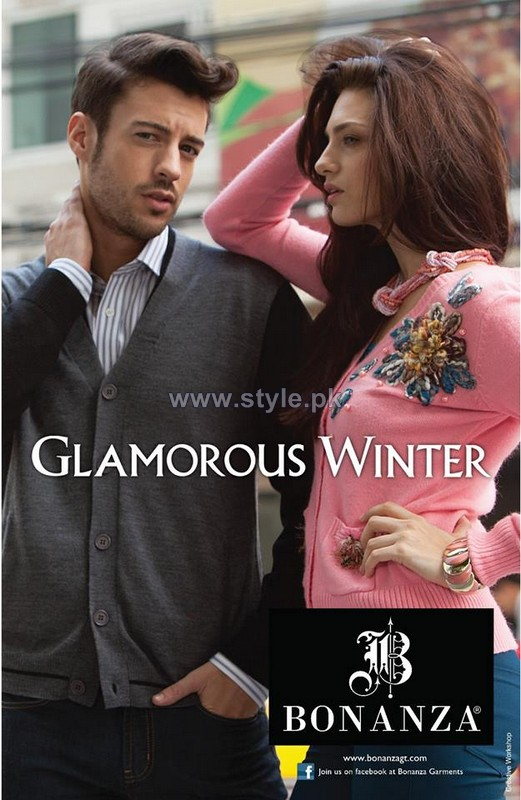 Bonanza Winter Dresses 2013-2014 For Men and Women 7