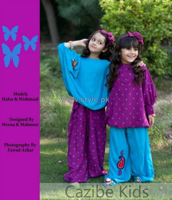Cazibe Pret Winter Dresses 2013 For Kids 6