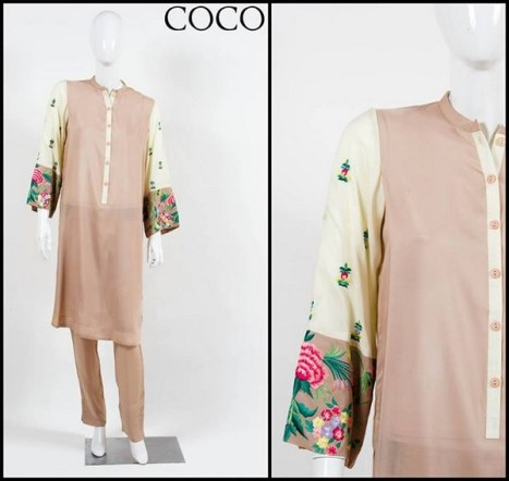 Coco by Zara Shahjahan Winter Dresses 2013-2014 for Women 001
