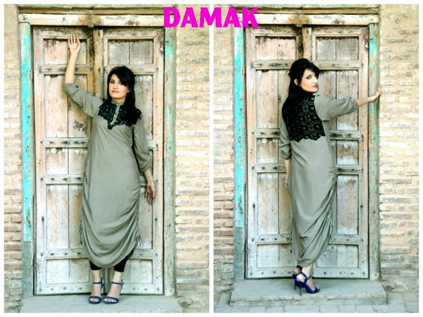 Damak Winter Dresses 2013-2014 For Women 008