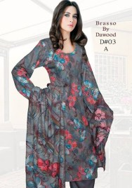 Dawood Textiles Winter Dresses 2013 For Women 0011