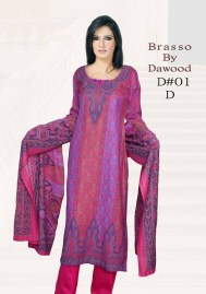 Dawood Textiles Winter Dresses 2013 For Women 005