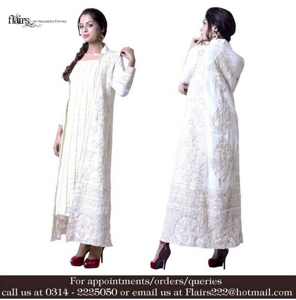 Flairs By Naureen Fayyaz Winter Dresses 2013-2014 For Women 006
