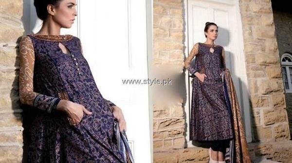 Ittehad Textiles Embroidered Khaddar Dresses 2013 for Women