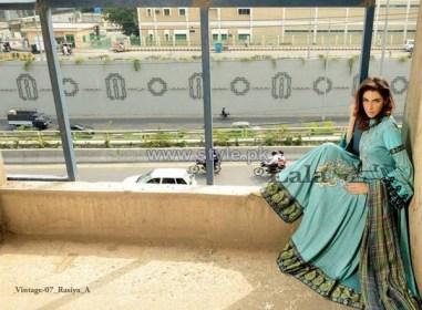 Lala Textiles Vintage Shawl Dresses 2013-2014 For Winter 3
