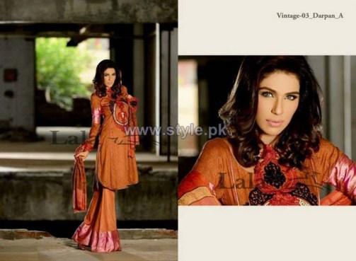 Lala Textiles Vintage Shawl Dresses 2013-2014 For Winter 4