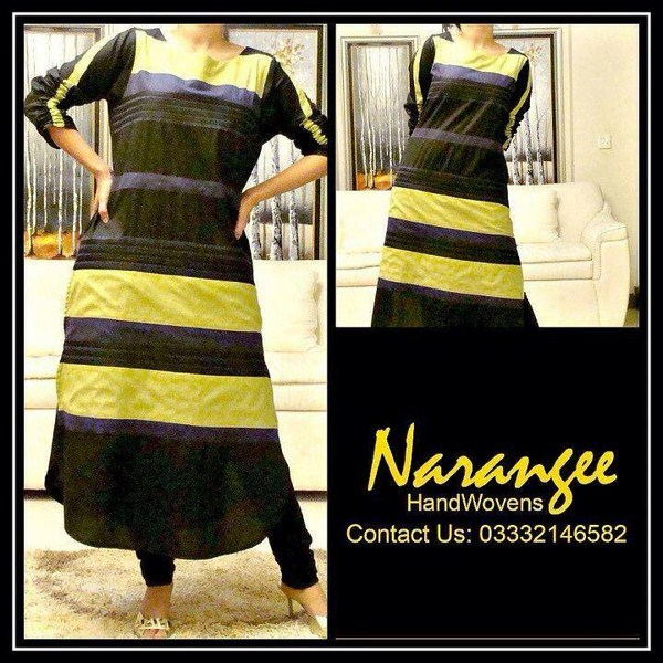 Narangee Winter Dresses 2013-2014 For Women 001