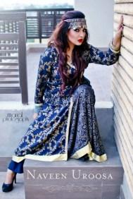 Naveen Uroosa Winter Dresses 2013-2014 For Women 7