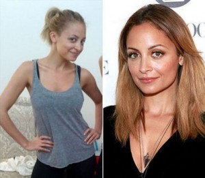 Nicole Richie With&without makeup