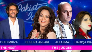 Pakistan Idol judges