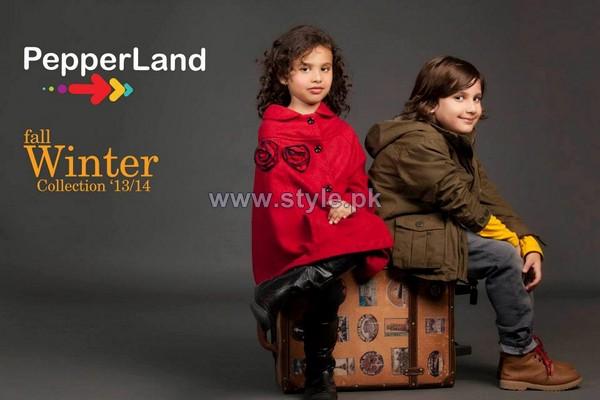 Pepperland Fall Winter Dresses 2013 For Kids 1