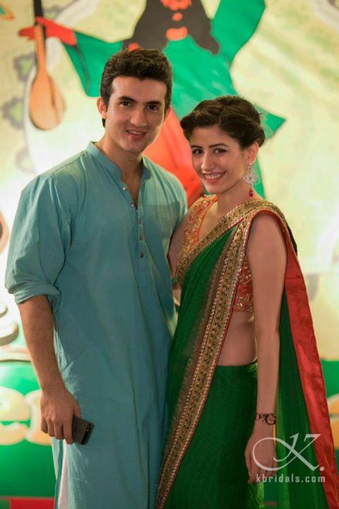 Syra Yousaf and Shehroz Sabazwari