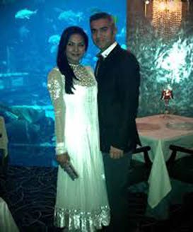 Veena Malik And Umar Farooq Pictures