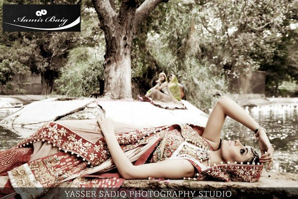 Aamir Baig Bridal Dresses 2013-2014 For Women 009