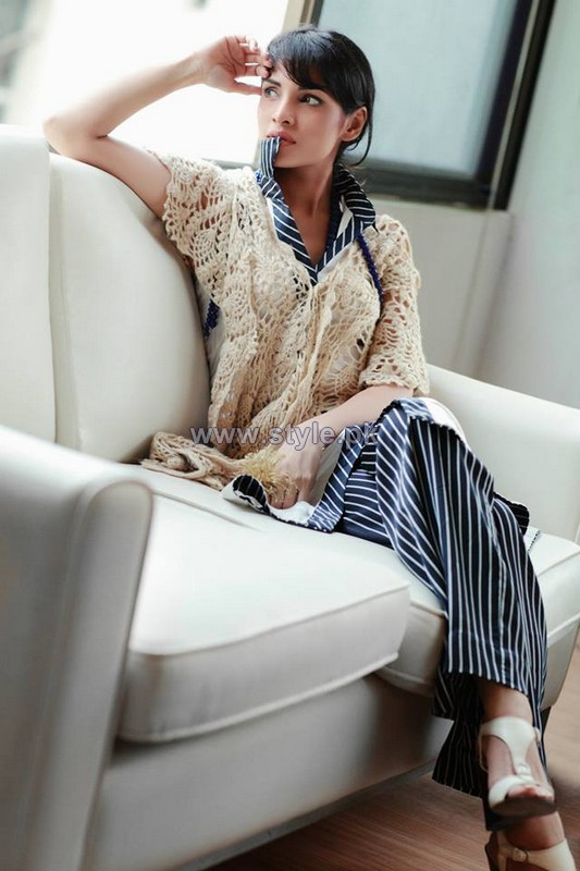 Arsalan Iqbal Winter Dresses 2014 For Girls 1
