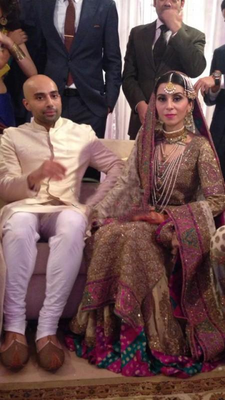 Celebrity Wedding 2013-Feeha jamshed