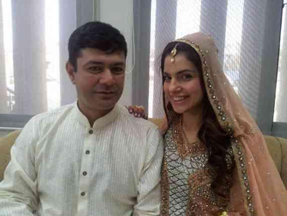 Celebrity Wedding 2013-Kiran Khan