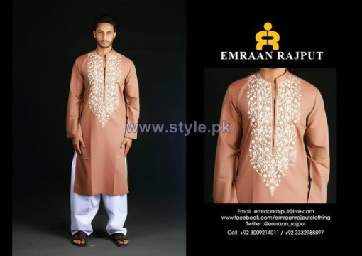 Emraan Rajput Formal Wear Kurtas 2014 For Boys 3