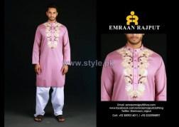 Emraan Rajput Formal Wear Kurtas 2014 For Boys 5