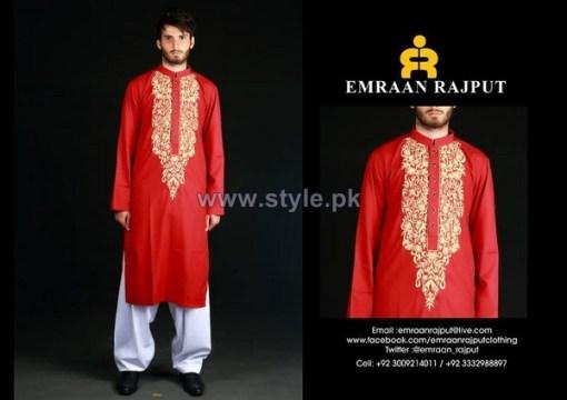 Emraan Rajput Formal Wear Kurtas 2014 For Men 8
