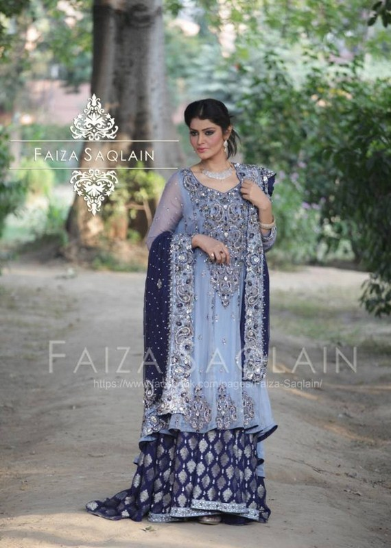 Faiza Saqlain Formal Dresses 2014 For Women 001