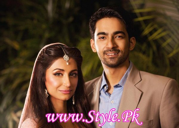 Hira tareen and Ali Safina Wedding Picture