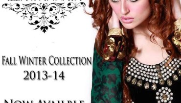 Ilsa n Annaya Winter Dresses 2014 for Women