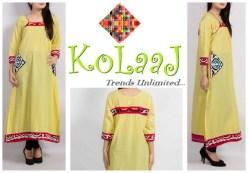 Kolaaj Winter Dresses 2013-2014 For Women 001
