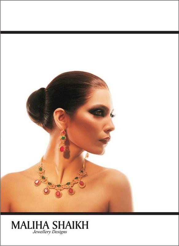 Maliha's Shaikh Jewellery Designs 2014 For Women 001