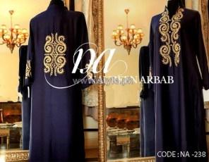 Naureen Arbab Party Wear Dresses 2014 For Winter 5