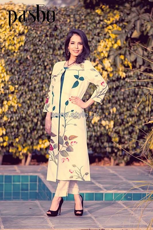 Pasho Casual Wear Dresses 2014 For Women 6