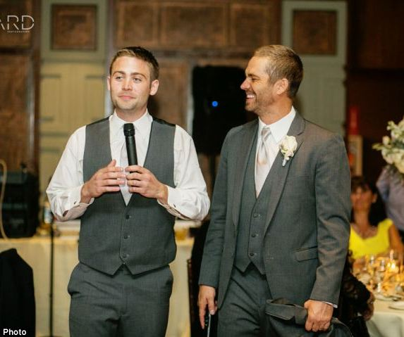 Paul Walker (late) With His Brother Cody Walker.