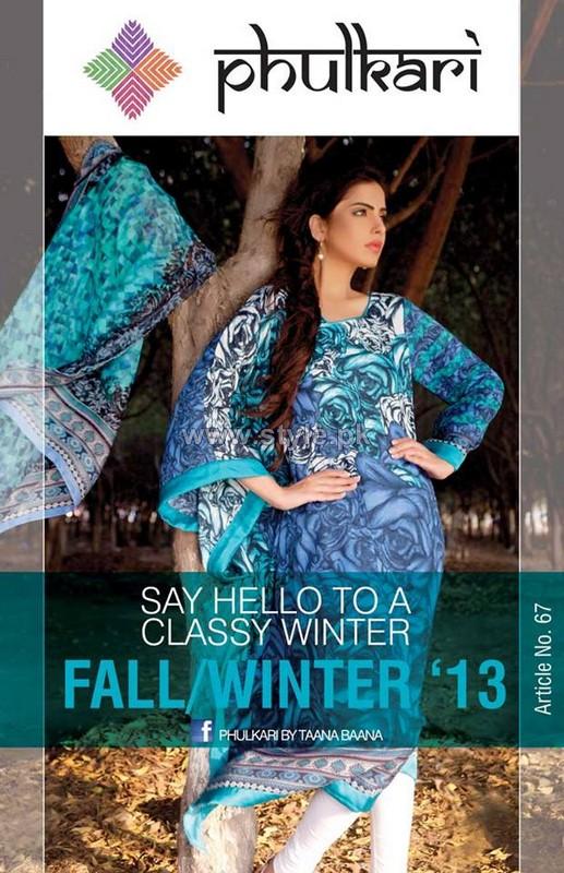 Phulkari by Taana Baana Winter Dresses 2013-2014 For Women 13