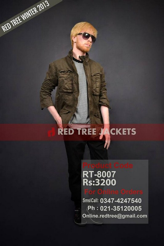 Red Tree Winter Jackets 2014 For Men 02