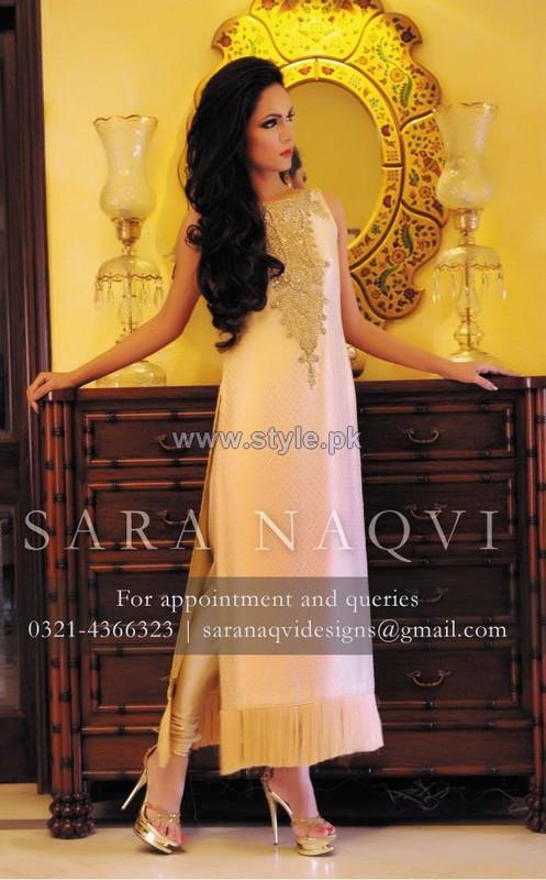 Sara Naqvi Winter Dresses 2014 For Girls 4