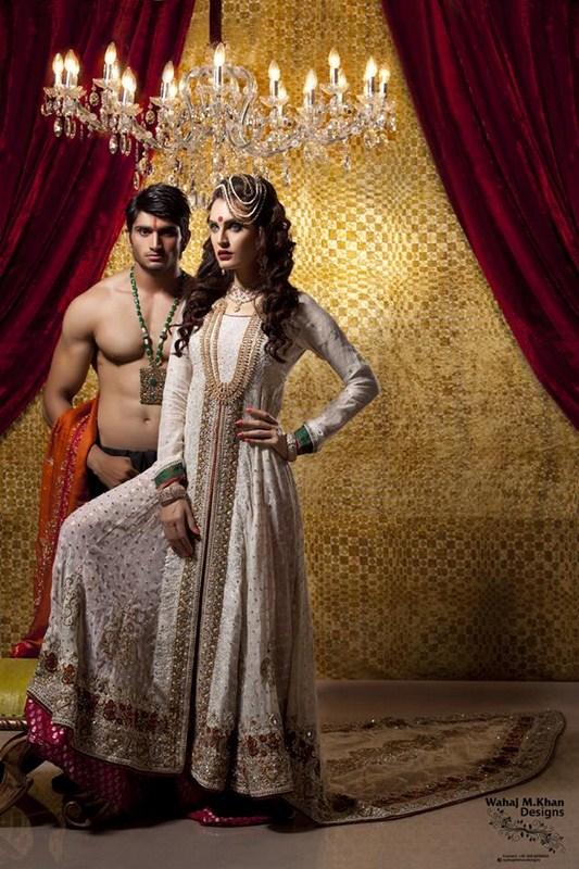 Wahaj M. Khan Bridal Dresses 2014 For Women 004