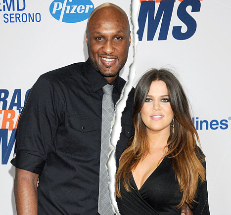 khloe kardashian filed for divorce