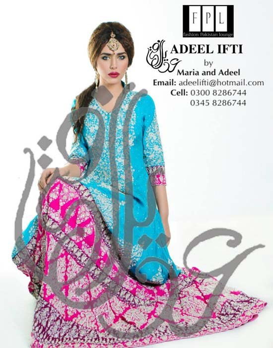 Adeel Ifti Winter Dresses 2014 For Women 001