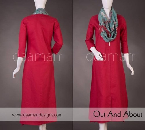 Daaman Casual Wear 2014 for Girls and Women011