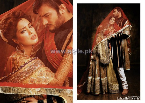 Fahad Hussayn Wedding Dresses 2014 For Men and Women 4