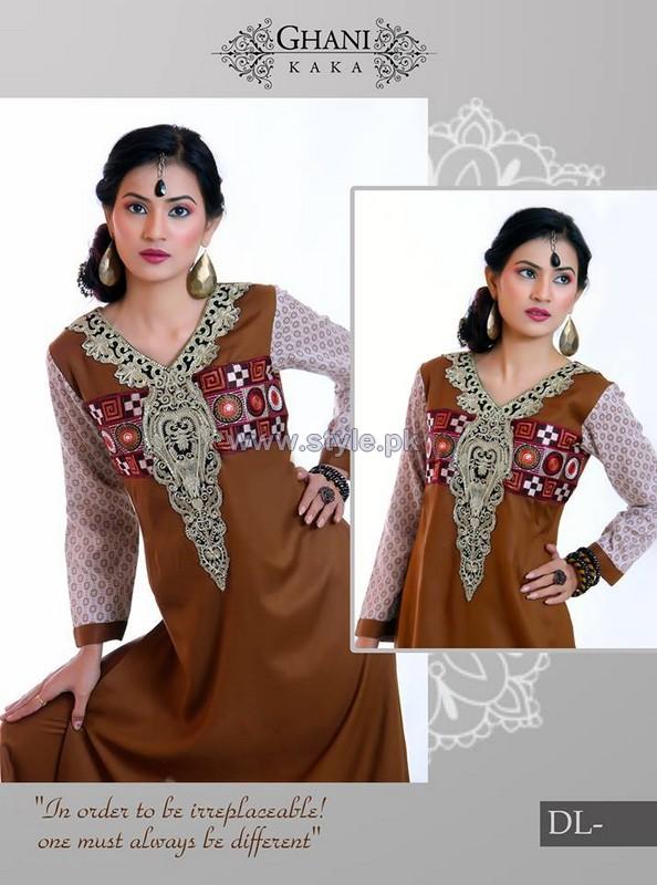 Ghani Textile Winter Arrivals 2014 For Women 8